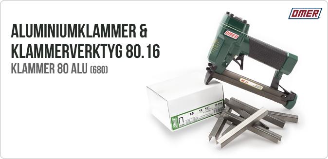 Aluminium-klammer 680 klammerpistol 80.16