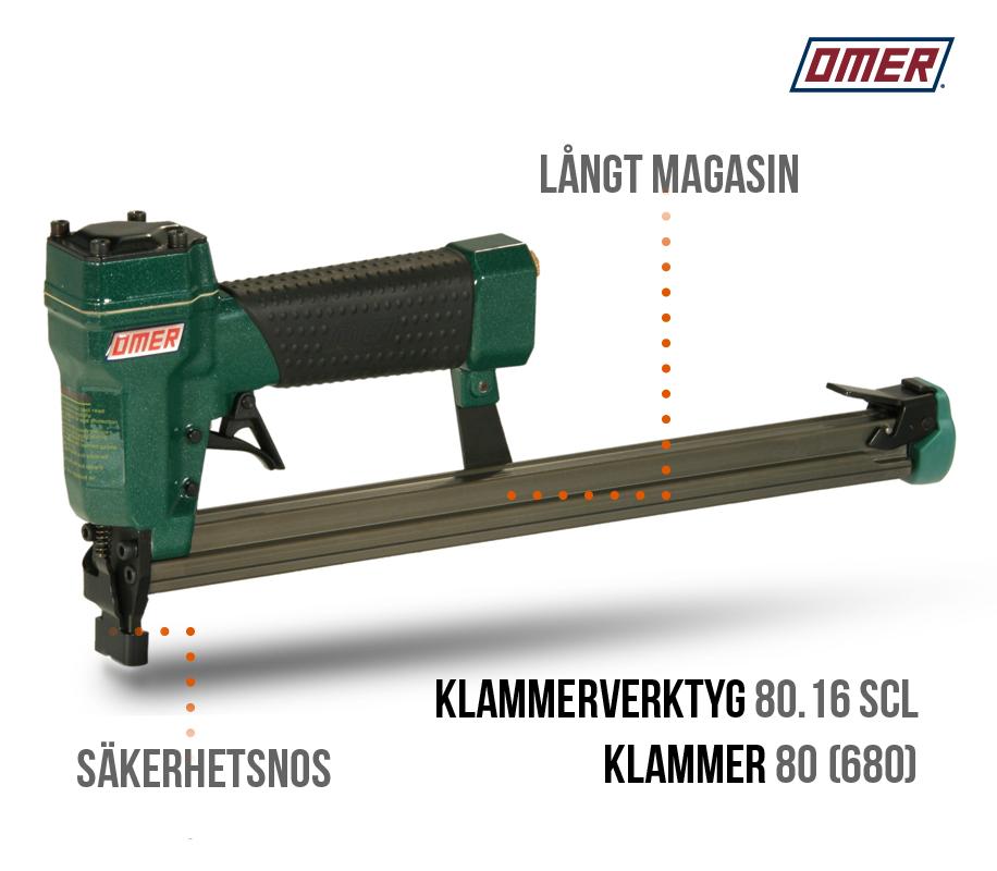 Klammerverktyg 80.16 scl